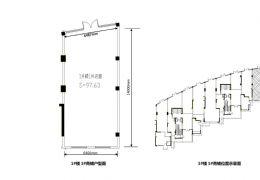 君悦滨江小区商铺98平米1室出租