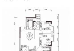 赣南大道,赣州港97平米3室2厅1卫出售