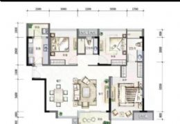 寶能城120平米3室2廳2衛出售