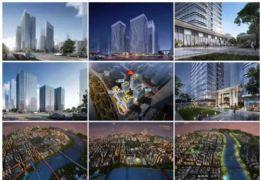 章江新区梅江大道,新世纪大桥旁滨江国际商务公寓一线