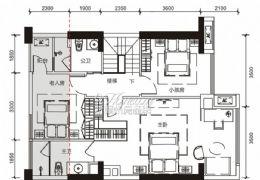 中航云府2期117平米4室2厅2卫出售