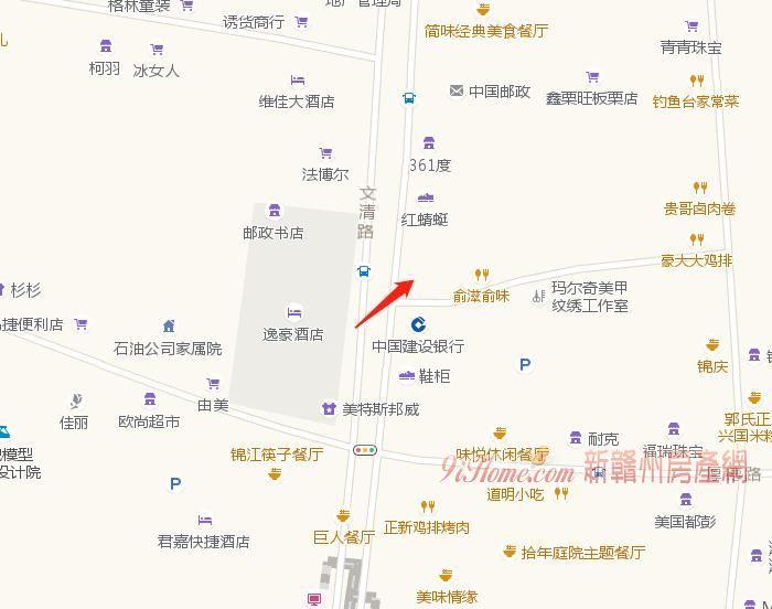 文清路95平米3室1厅1卫出租_房源展示图3_新赣州房产网