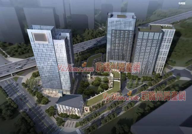 阳明国际3#楼20层160平米写字楼出租_房源展示图2_新赣州房产网