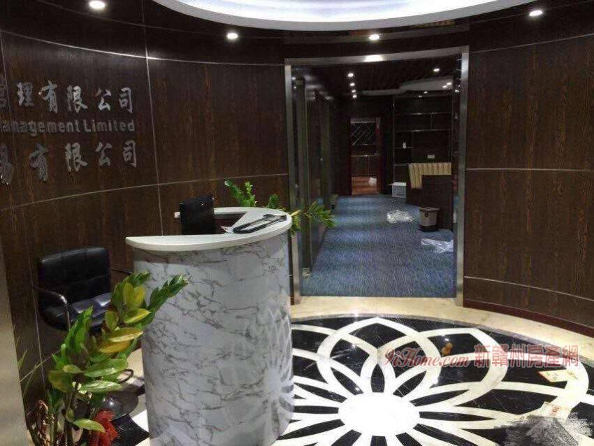 豪德銀座帶裝修寫字樓出租_房源展示圖1_新贛州房產網