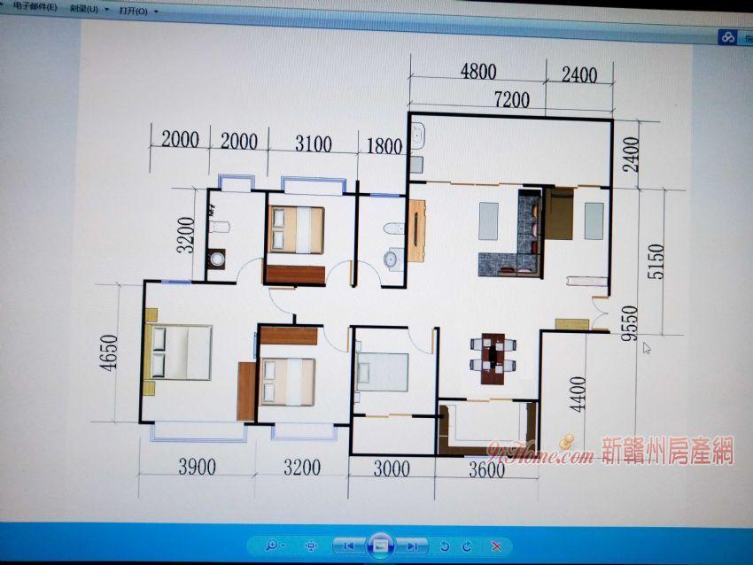 中航城143平米5室2厅2卫出售_房源展示图4_新赣州房产网
