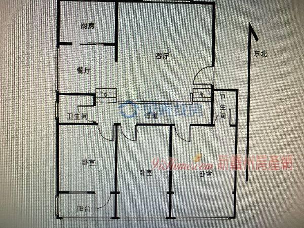 南河路全顺花园:半复式,有柴间,楼顶花园可种菜养花_房源展示图2_新赣州房产网
