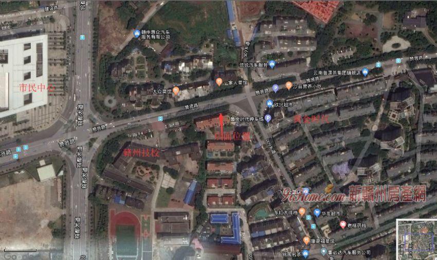 赞贤路文远阁店面48平米1室出售_房源展示图1_新赣州房产网