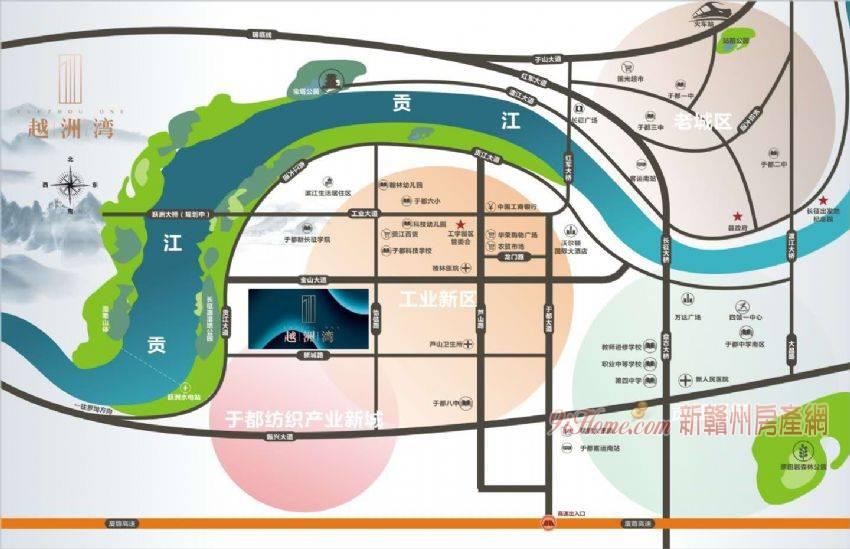 于都工業新區107平米3室2廳2衛出售_房源展示圖1_新贛州房產網