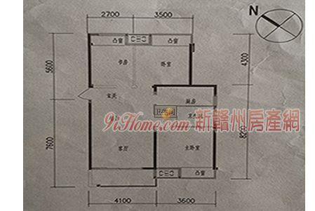 华润幸福里三期103平米3室2厅2卫精装出售_房源展示图5_新赣州房产网