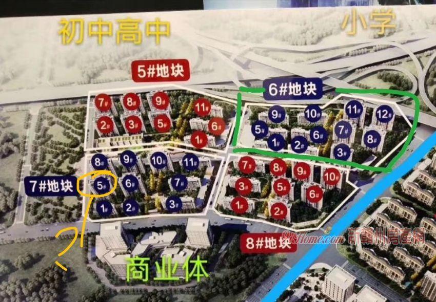 【指标转让】绿地城际空间站3室2厅2卫(公园旁)_房源展示图1_新赣州房产网